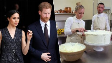 Prince Harry & Meghan Markle Royal Wedding Cake is Unique Seasonal Flavour Combination: Read Recipe, Preparation Pics & Video