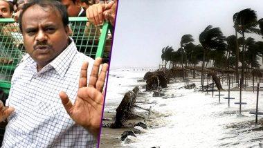 Failure to Tackle Cyclone Mekunu Opposition in Karnataka Slams JD(S) Congress Coalition Government