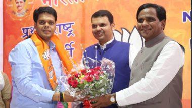 Niranjan Davkhare, NCP's Konkan Graduate Constituency MLC Joins BJP
