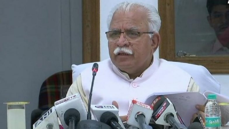 Haryana CM Manohar Lal Khattar says no namaz in public places