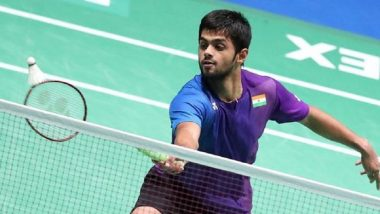 New Zealand Open Badminton Championship: Ace Indian Shuttler B. Sai Praneeth Crashes Out of Semis
