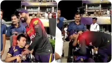 IPL 2018 Diaries Video: KKR Captain Dinesh Karthik Meets a Differently Abled Fan