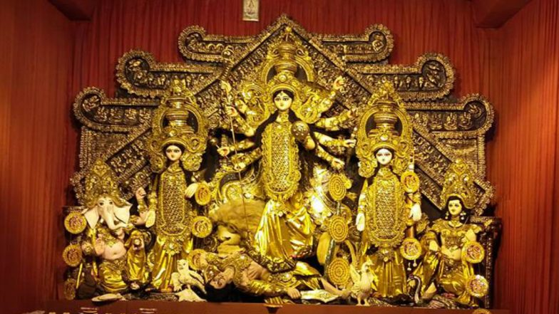 Shri Durga Stuti Paath With Lyrics by Anuradha Paudwal: This Navaratri 2018, Chant Durga Stuti Mantra For Seeking Blessings From Maa Durga (Watch Video)