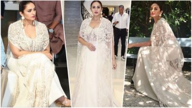 Huma Qureshi Is Ready for Cannes 2018 Red Carpet: The Actress Looks Ethereal in White, View Pics