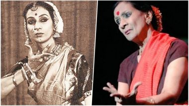 Mrinalini Sarabhai 100th Birth Anniversary: A Video Tribute to Indian Classical Dancer's Contribution to Indian Art