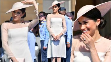 The Duchess of Sussex Meghan Markle Makes Her First Appearance as a Royal in Pantyhose; Takes the Kate Middleton Route, View Pics
