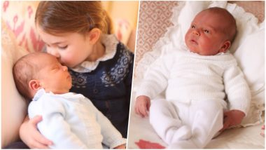 Prince Louis Pics: Kensington Palace Released Two New Photos of Third Royal Baby, Taken by the Duchess of Cambridge