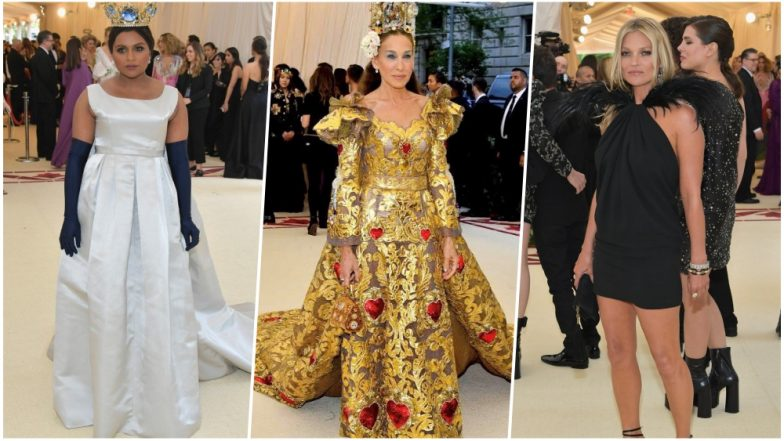 Celebs keep the faith at New York Met Gala