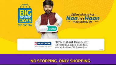 Flipkart Big Shopping Days Sale: Huge Price Cut on Google Pixel 2XL, Samsung Galaxy On Nxt, Laptops & More Expected