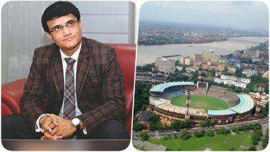Kolkata's Eden Gardens has Been Voted as the Best Ground of IPL 2018, Sourav Ganguly Thanks the Ground Staff