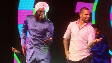 Chris Gayle Teaches Shikhar Dhawan, Rohit Sharma How to Dance; Watch Video