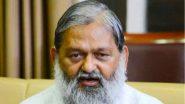 'Bharat Mata Ki Jai' Row Hits Haryana Assembly, Minister Anil Vij Warns Congress MLA Geeta Bhukkal Against 'Taunting' BJP Leaders