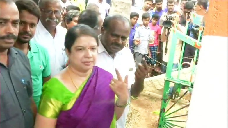 While Radhika Kumaraswamy Tops The Trends, Meet Anitha, The 'First Wife' of Karnataka CM-Designate HD Kumaraswamy