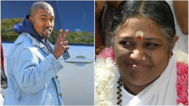 Kanye West, Husband of Kim Kardashian Tweets Pic of Amma Mata, See How Netizens React