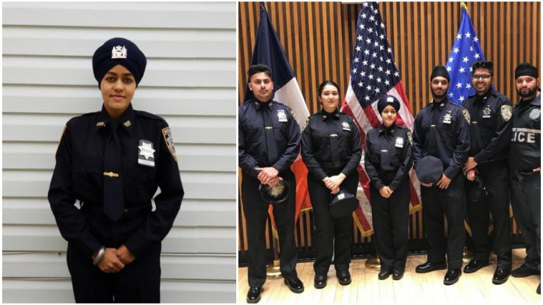 Gursoach Kaur Becomes  First Female Sikh Officer With a Turbaned Uniform in New York Police Department