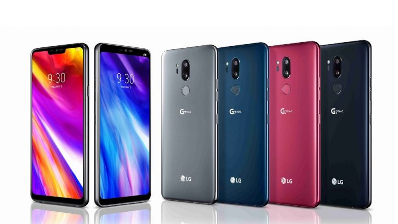 LG G7 ThinQ with AI Camera, Google Lens & iPhone X Like Notch Launched; India Release Date, Features & Specifications