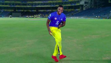 Lungi Ngidi Doing Lungi Dance Post CSK vs KXIP IPL 2018 Match is a Must Watch Video