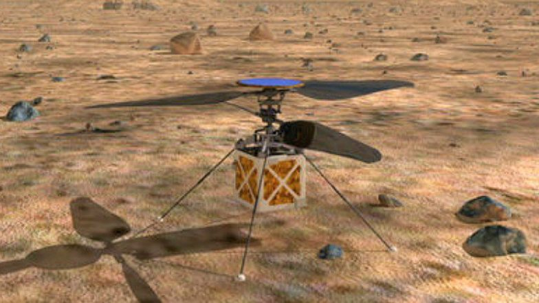 NASA to Send Helicopter in Mars; Marscopter Set to Fly with Rover Mission 2020, Watch Video