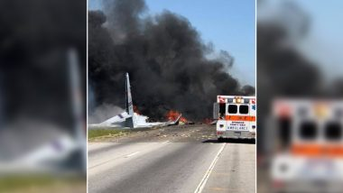 US Military Cargo Plane Crashes At Georgia, Nine People Onboard Dies