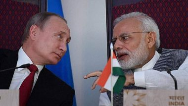 Vladimir Putin Invites PM Modi as 'Main Guest' at Eastern Economic Forum in Vladivostok in September 2019