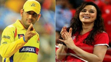 MS Dhoni to Play for KXIP in Next Season? Preity Zinta Professes Her Love for CSK Captain, Watch Video