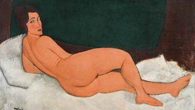 "Amedeo Modigliani's Nude Painting ""Nu couché (sur le côté gauche)"" Raises More Than $157 Million at Sotheby's Auction"