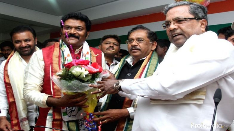 Congress MLA Anand Singh Accused of Graft Charges to Quit Party? Major Blow to Congress-JD(S) Pact in Karnataka