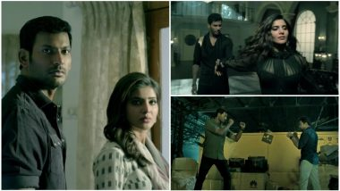 Irumbuthirai Trailer: Vishal Engages in a Sleek Cyber War With Arjun with a Lovely Samantha for Company