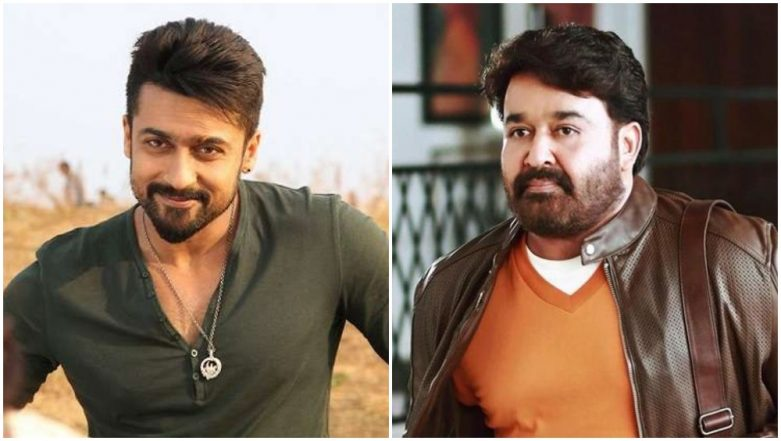 Suriya Teams Up With Mohanlal for KV Anand's Next and We Can't Contain Our Excitement!