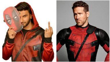 Ryan Reynolds, Ranveer Singh Bond Over Deadpool 2, Van Wilder and Bad Words