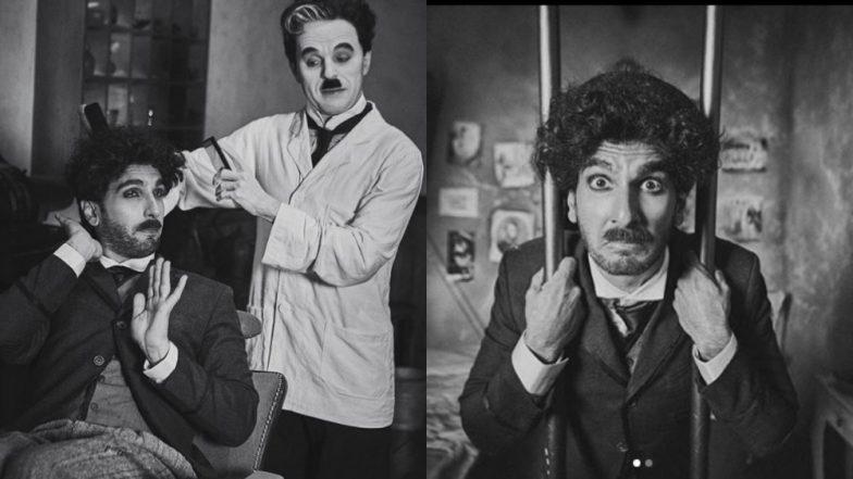 Ranveer Singh transforms into Charlie Chaplin