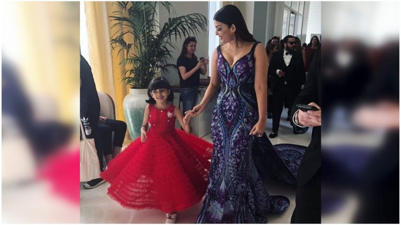 Aishwarya Rai Bachchan Teaches Daughter Aaradhya How to Twirl at Cannes 2018 Red Carpet - Watch Video