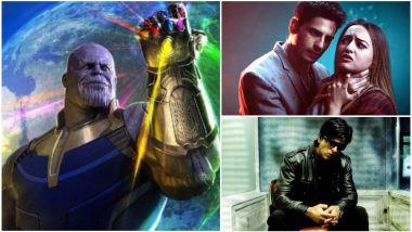 Avengers: Infinity War: Shah Rukh Khan's Don, Sidharth