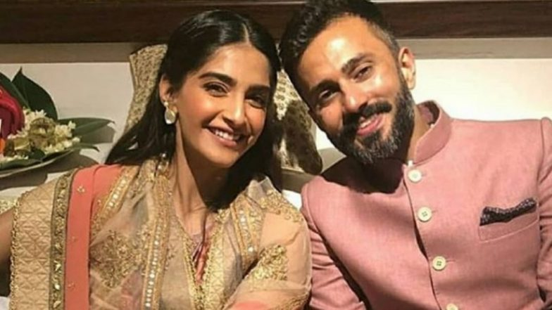 Reception: Sonam Kapoor-Anand Ahuja look adorable, but his sneakers take spotlight