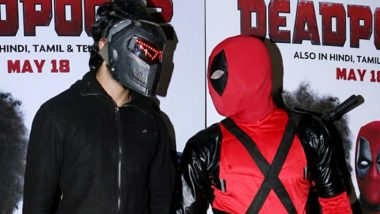 This Is What Happened When Bhavesh Joshi Superhero Met Deadpool – View Pics