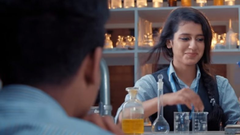 Priya Prakash Varrier's New Song Teaser: Oru Adaar Love's Track Shows College Romance With Roshan Abdul Rahoof, Check Video