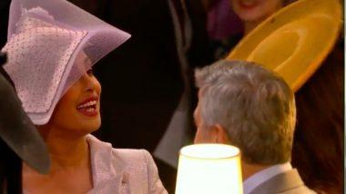 Priyanka Chopra Meets George Clooney at Meghan Markle-Prince Harry's Royal Wedding