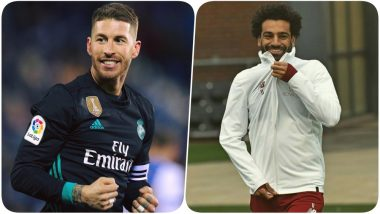 Sergio Ramos vs Mohamed Salah Clash Averted: Real Madrid Captain Injured While Playing For Spain, Will Not Play Against Barcelona & Liverpool