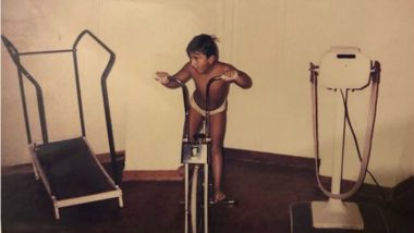 Ranveer Singh Doing Cardio in This Childhood Picture Will Give you Fitness Goals!