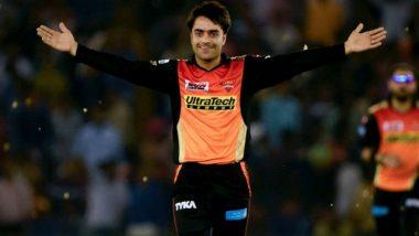 IPL 2018: David Warner Hails SRH Spinner Rashid Khan for his All-Round Performance Against KKR