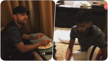 IPL 2018 Diaries Video: Funny Banter Between Khaleel Ahmed & Rashid Khan Is Too Good to Be Missed