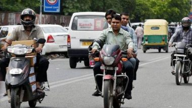 Uttar Pradesh: No Entry for Two-Wheeler Riders Without Helmet on Lucknow-Agra Expressway, Says UPEIDA
