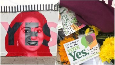 Abortion Referendum in Ireland: Mural of Indian Dentist Savita Halappanavar Erected as Country Votes