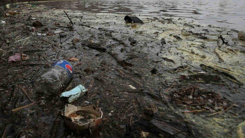 Municipal Officer Makes Litterbug Retrieve Garbage He Threw Into Ahmedabad's Kharicut Canal