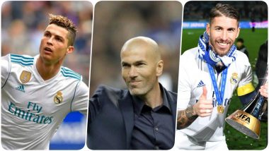 Real Madrid's Cristiano Ronaldo & Sergio Ramos Sends a Message to Zinedine Zidane