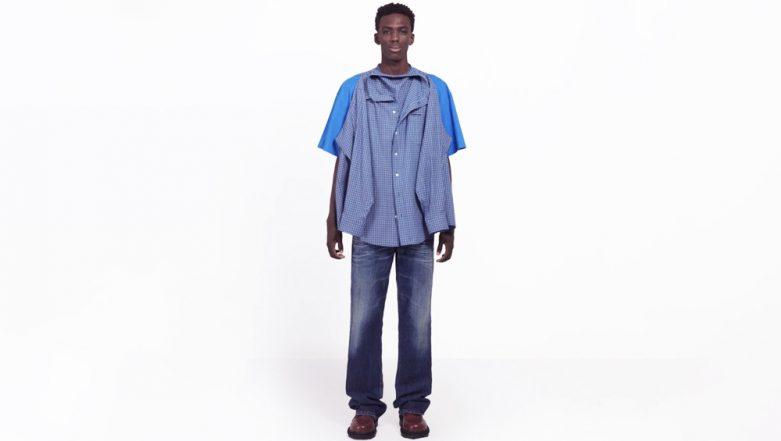 'T-Shirt Shirt' for Over Rs. 80 Thousand! Luxury Brand Balenciaga's New Bizarre Fashion Idea Gets Trolled on Social Media