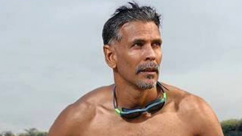 Bare-bodied Milind Soman is Hotness Personified as He Emerges From Water;Revisits Made In India Mania? View Pic!