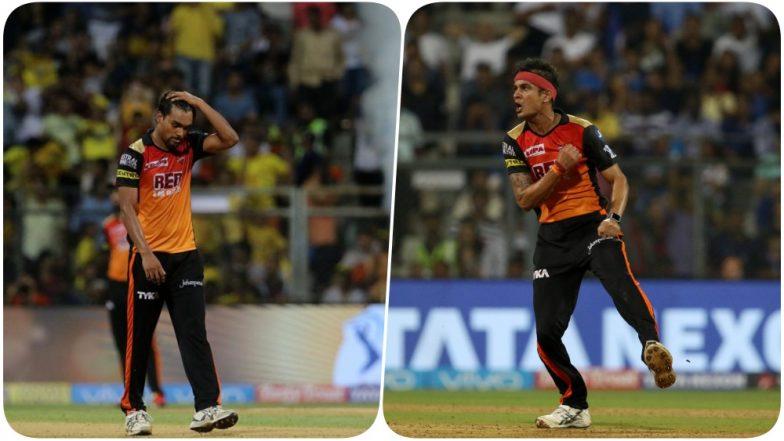 CSK vs SRH IPL 2018 Finals Video Highlights: SRH's Sandeep Sharma and Siddharth Kaul Dampen IPL 11 Dreams for the Team