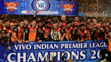 SRH Team in IPL 2019: List of Sunrisers Hyderabad Players for Indian Premier League 12 After Auction
