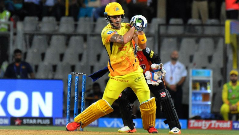 IPL 2019: Opening for Chennai Super Kings Helped Grow My Game, Says Faf Du Plessis